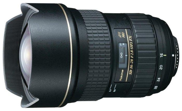 Объектив Tokina AT-X 16-28mm f/2.8 Pro FX Nikon F