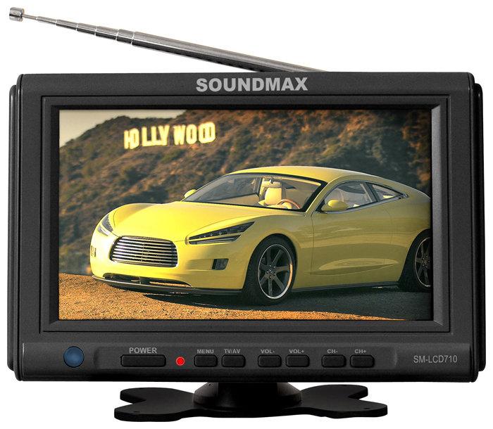 Автомобильный телевизор SoundMAX SM-LCD710