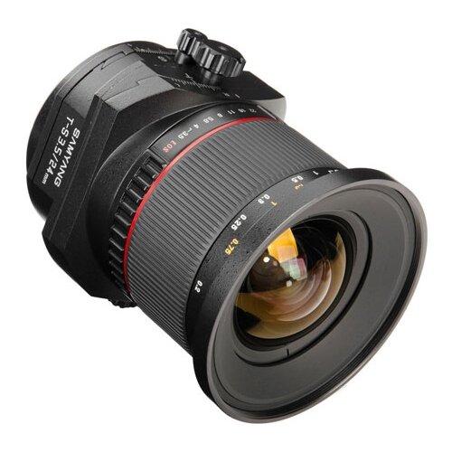Фото - Объектив Samyang 24mm f/3.5 ED AS UMC T-S Nikon F объектив samyang 85mm f 1 8 ed umc cs fujifilm x