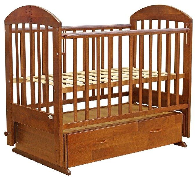 Кроватка Топотушки Скарлетт (классическая), поперечный маятник