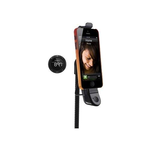 Устройство громкой связи Belkin TuneBase Hands-Free FM черный