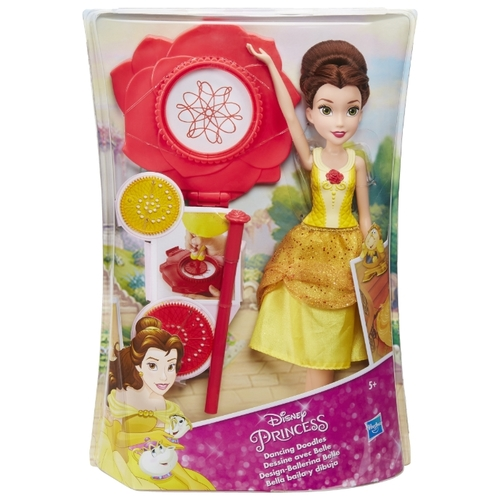Интерактивная кукла Hasbro Disney Princess Танцующая Белль, 28 см, B9151 Куклы и пупсы
