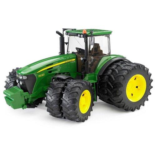 Трактор Bruder John Deere 7930 (03-052) 1:16 зеленый трактор bruder john deere 6920