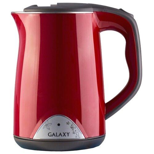 Чайник Galaxy GL0301, красный чайник galaxy gl0301 белый
