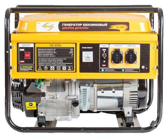 Бензиновая электростанция Denzel GE4500