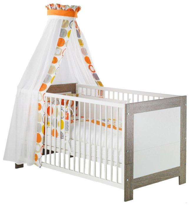 Детская кроватка Geuther Marlene (белый/серый)