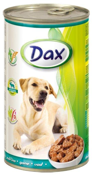Корм для собак DAX Дичь для собак консервы