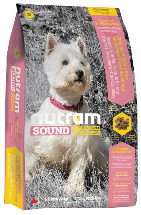 Корм для собак Nutram S7 Для собак мелких пород