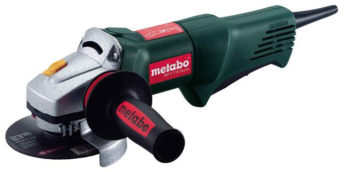 УШМ Metabo WP 7-115 Quick, 750 Вт, 115 мм