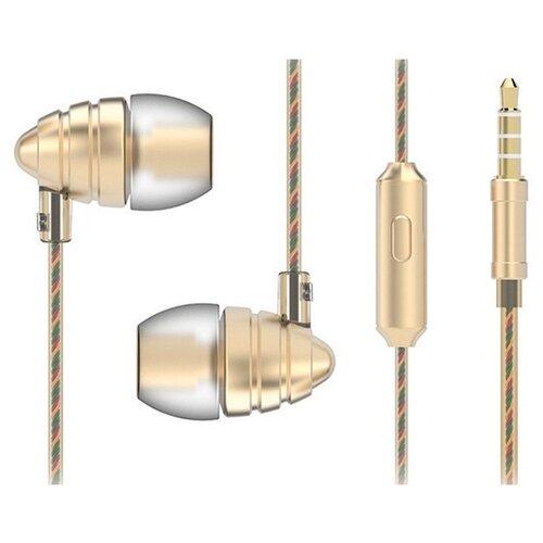 Наушники HARPER HV-805 золотойНаушники и Bluetooth-гарнитуры<br>