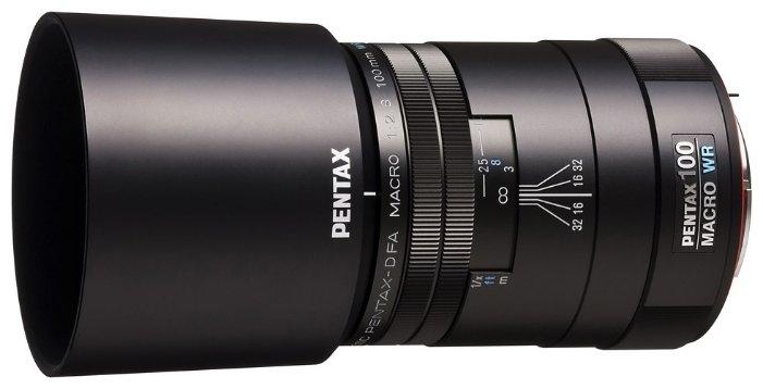 Объектив Pentax SMC D FA Macro 100mm f/2.8 WR
