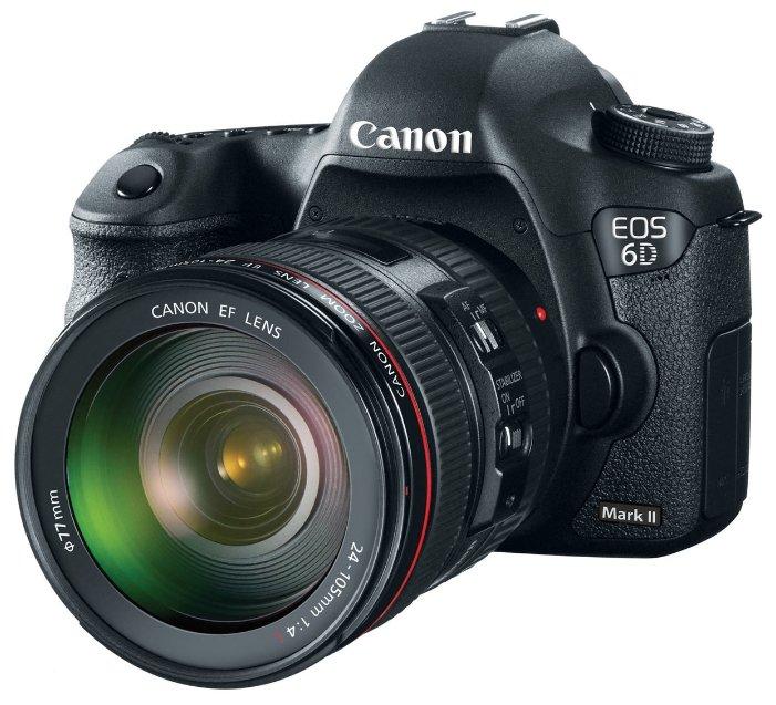 Canon Зеркальный фотоаппарат Canon EOS 6D Mark II Kit