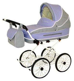 Коляска для новорожденных Little Trek Баттерфляй