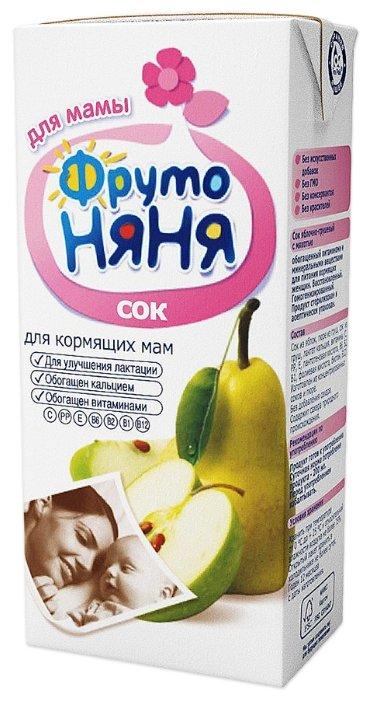 Сок для кормящих матерей ФрутоНяня из яблок и груш 330 мл