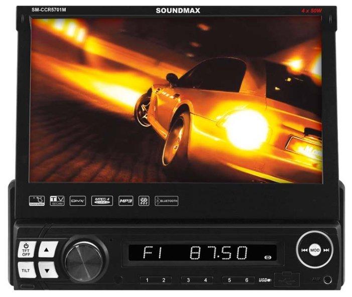 Автомагнитола SoundMAX SM-CCR5701M