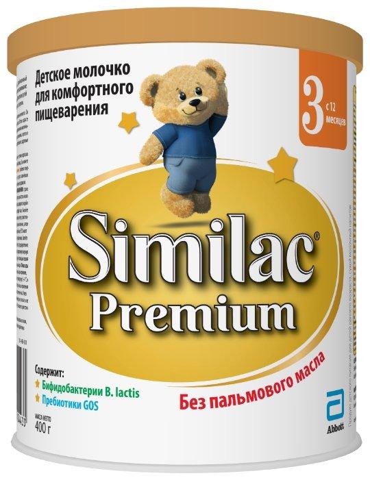 Смесь Similac (Abbott) Premium 3 (с 12 месяцев) 400 г