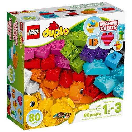 Купить Конструктор LEGO Duplo 10848 Мои первые кубики, Конструкторы