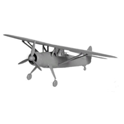 Сборная модель ZVEZDA Немецкий самолет-разведчик Henschel Hs 126B-1 (Хеншель) (6184) 1:144