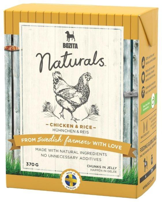 Корм для собак Bozita Naturals курица с рисом 370г