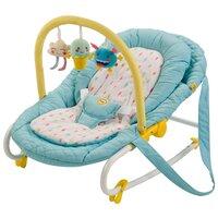 Шезлонг Happy Baby Nesty blue