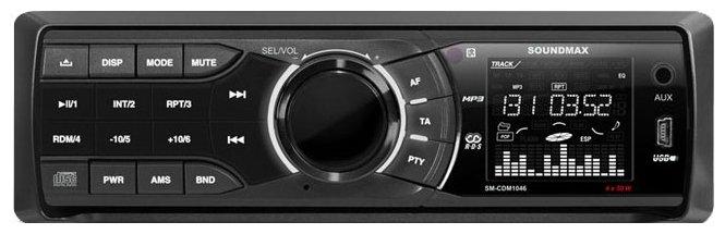 Автомагнитола SoundMAX SM-CDM1046