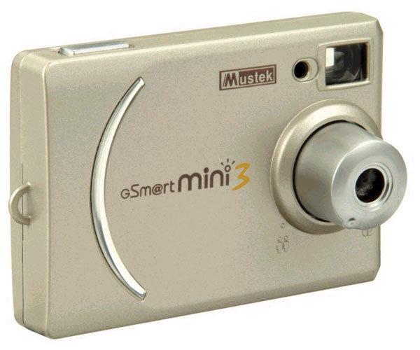 Фотоаппарат Mustek GSmart Mini 3