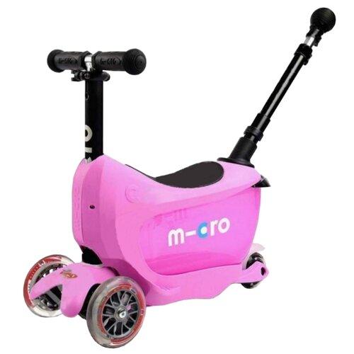 Кикборд Micro Mini2go Deluxe Plus pink