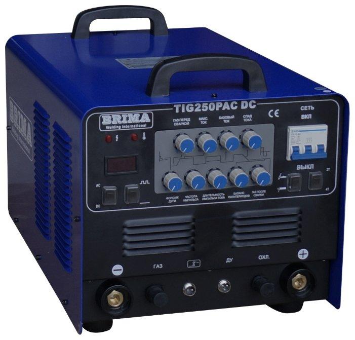 Сварочный аппарат BRIMA TIG 250P AC/DC