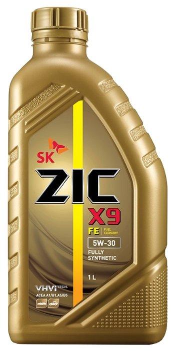 Моторное масло ZIC X9 FE 5W-30 1 л
