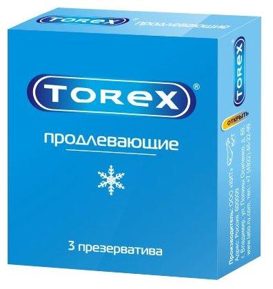 Презервативы TOREX Продлевающие