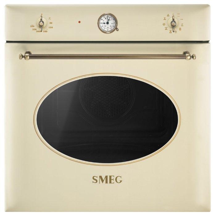 Электрический духовой шкаф SF855PO, кремовый, Smeg