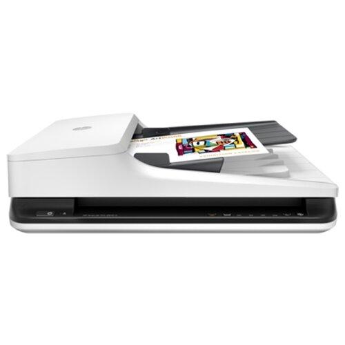 Сканер HP ScanJet Pro 2500 f1 белый