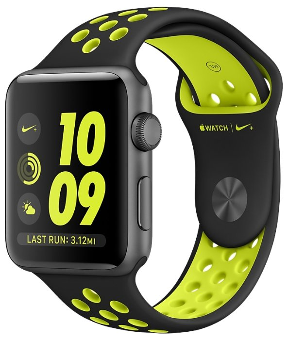 Часы Apple Watch Series 2 42mm with Nike Sport Band