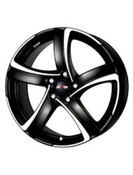 Колесный диск Alutec Shark 7.5x17/5x114.3 D70.1 ET47 Racing Black Front Polished - фото 1