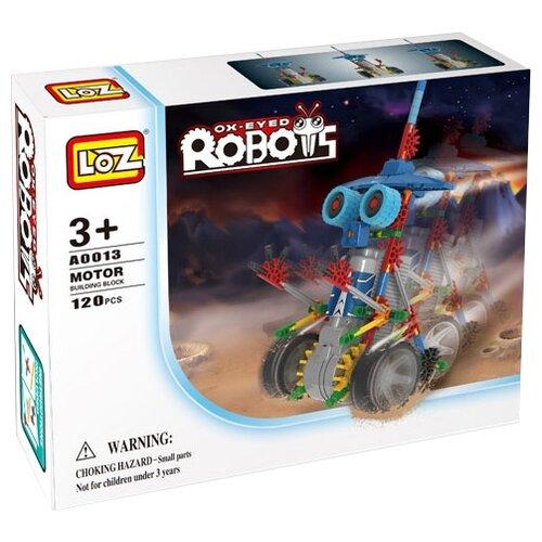 Фото - Конструктор LOZ Ox-Eyed Robots A0013 конструктор loz brickheadz 1451 винни пух