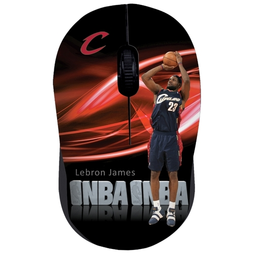 Мышь Cirkuit Planet NBA MM2108 Black USB