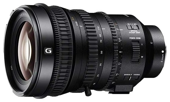 Sony 18–110mm f/4G OSS (SELP18110G)