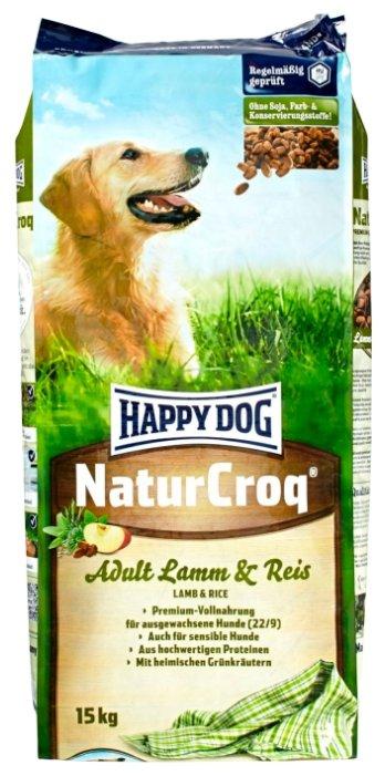 Корм для собак Happy Dog NaturCroq Lamm&Reis для собак с чувствительным пищеварением на основе ягненка и риса