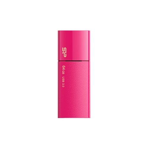 Фото - Флешка Silicon Power Blaze B05 64 GB, ярко-розовый флешка silicon power blaze b05 8 gb синий