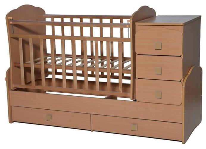 Кроватка Антел Ульяна-1 (трансформер)