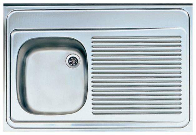 Накладная кухонная мойка ALVEUS Classic 50 90х60см нержавеющая сталь