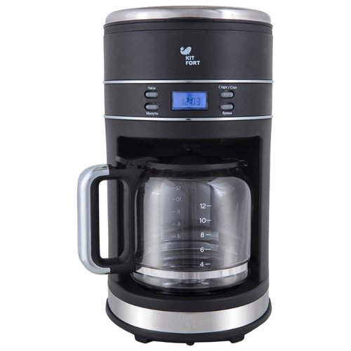 Кофеварка Kitfort KT-704 черный