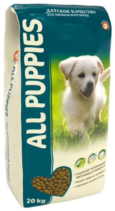 Корм для собак ALL PUPPIES Сухой полнорационный