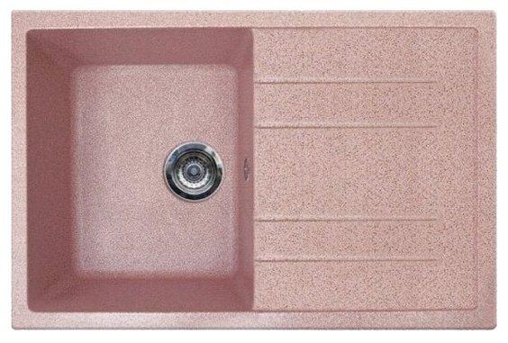 Врезная кухонная мойка Gran-Stone GS-25 78х50см искусственный мрамор