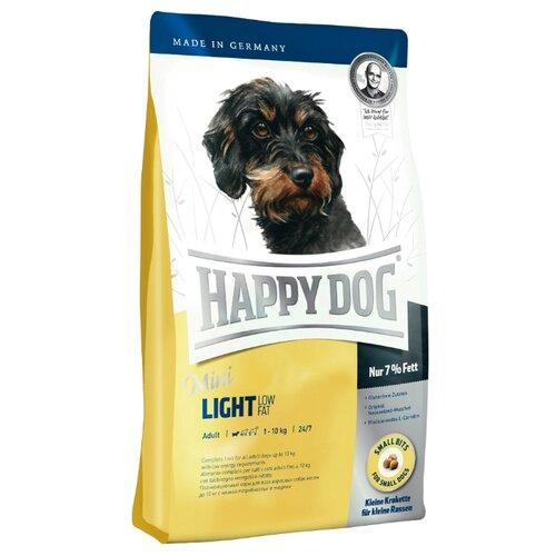 Корм для собак Happy Dog (4 кг) Supreme - Mini Light для взрослых собак мелких пород, склонных к полнотеКорма для собак<br>