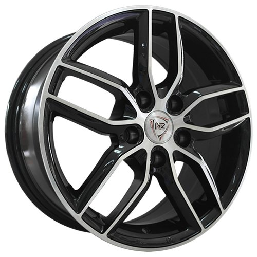 Фото - Колесный диск NZ Wheels SH656 6x15/4x100 D60.1 ET40 BKF колесный диск nz wheels f 42 6x15 4x100 d60 1 et40 bkbsi