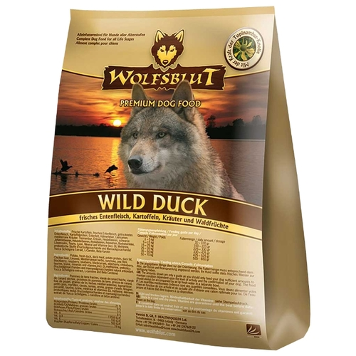 Корм для собак Wolfsblut Wild Duck Adult (2 кг)