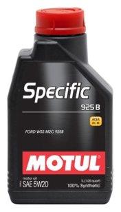 Моторное масло Motul Specific 925B 5W20 1 л