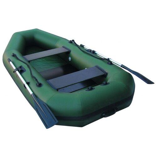 Надувная лодка Leader Компакт 280 зеленый