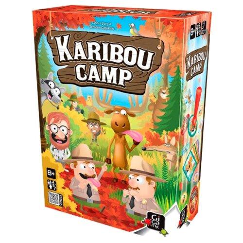 Настольная игра Gigamic KARIBOU CAMP gigamic настольная игра quixo mini